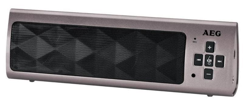 Bluetooth-аудиосистема AEG BSS 4818 titan вентилятор напольный aeg vl 5569 s lb 80 вт