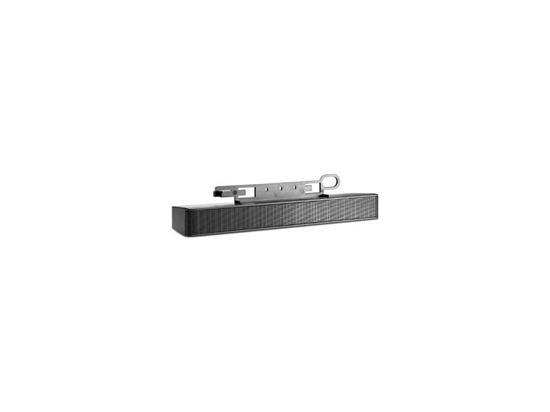 Колонки HP LCD Speaker bar 1.1Вт черный NQ576AA колонки hp колонки hp s4000 pink portable speaker