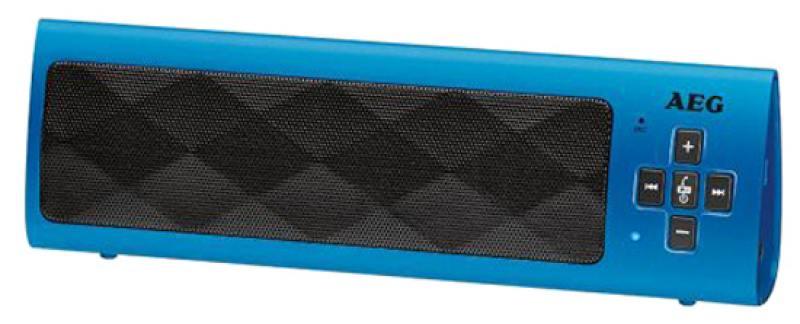 Bluetooth-аудиосистема AEG BSS 4818 blue вентилятор напольный aeg vl 5569 s lb 80 вт