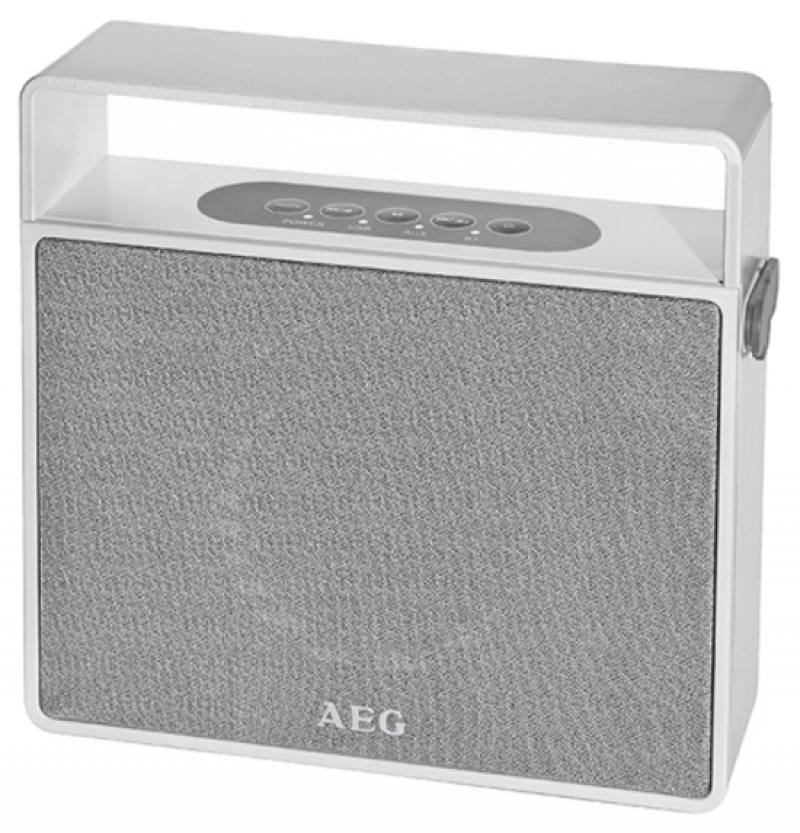Bluetooth-аудиосистема AEG BSS 4830 white aeg fw 5645 grey white