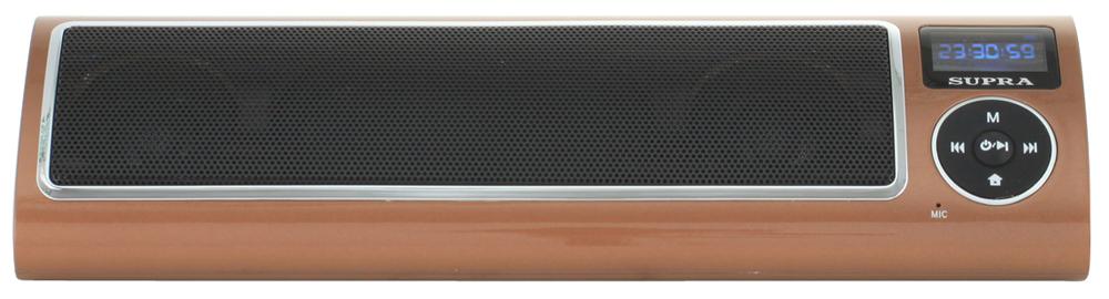 Портативная акустика Supra PAS-6255 кофейный