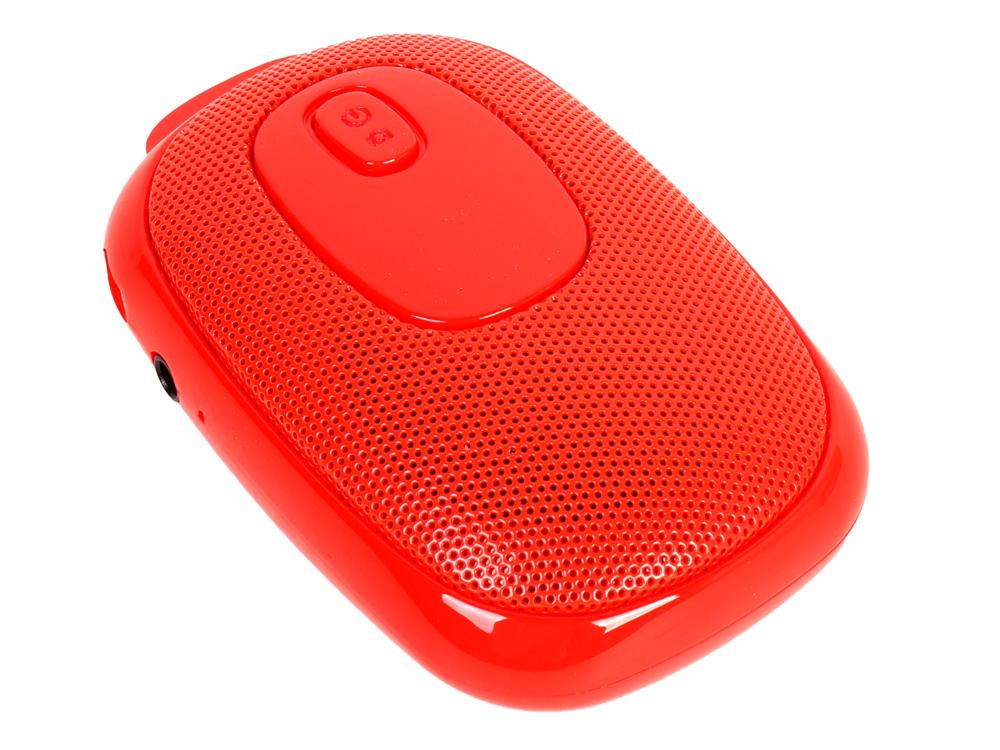 Беспроводная BT-Колонка GINZZU GM-985C, bluetooth, 3W/TF/AUX/SELFIE кнопка, красный