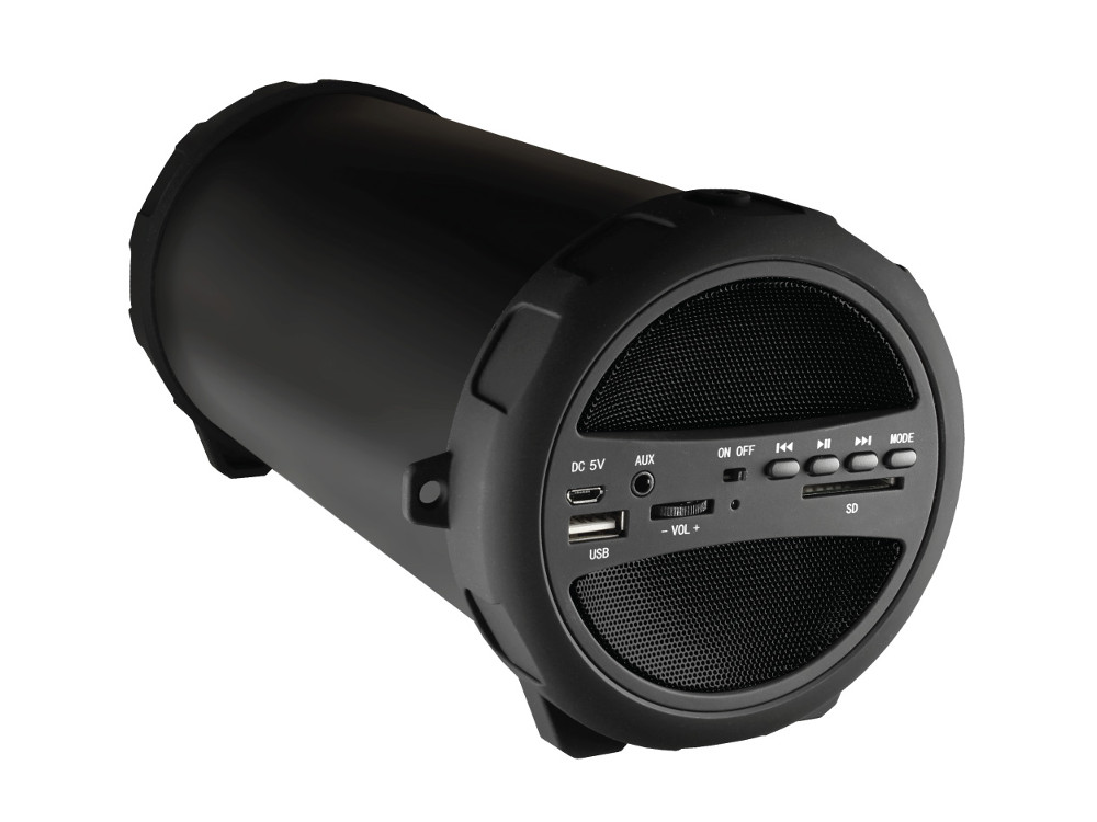 Беспроводная BT-Колонка GINZZU GM-986B, bluetooth, 10W/USB/SD/AUX/FM/Subwoofer