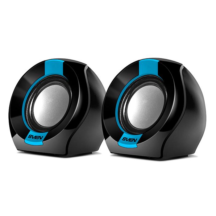 Колонки Sven 150 2x2.5 Вт черно-синий