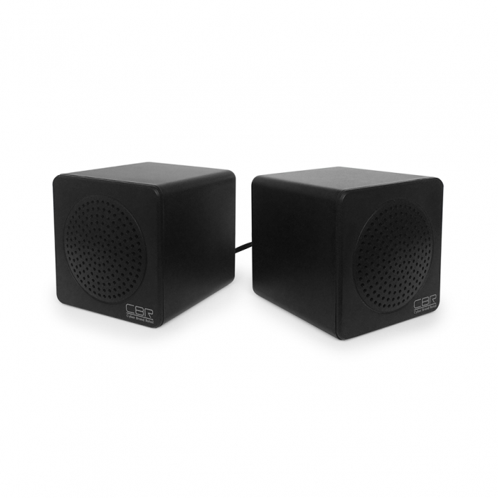 Колонки CBR CMS 292, Black, 2.0 W*2, USB