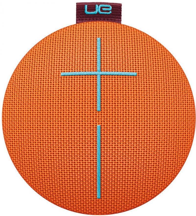 Портативная акустика Logitech UE Roll 2 Habanero оранжевый 984-000705 5 Вт, 108 - 20000 Гц, BlueTooth