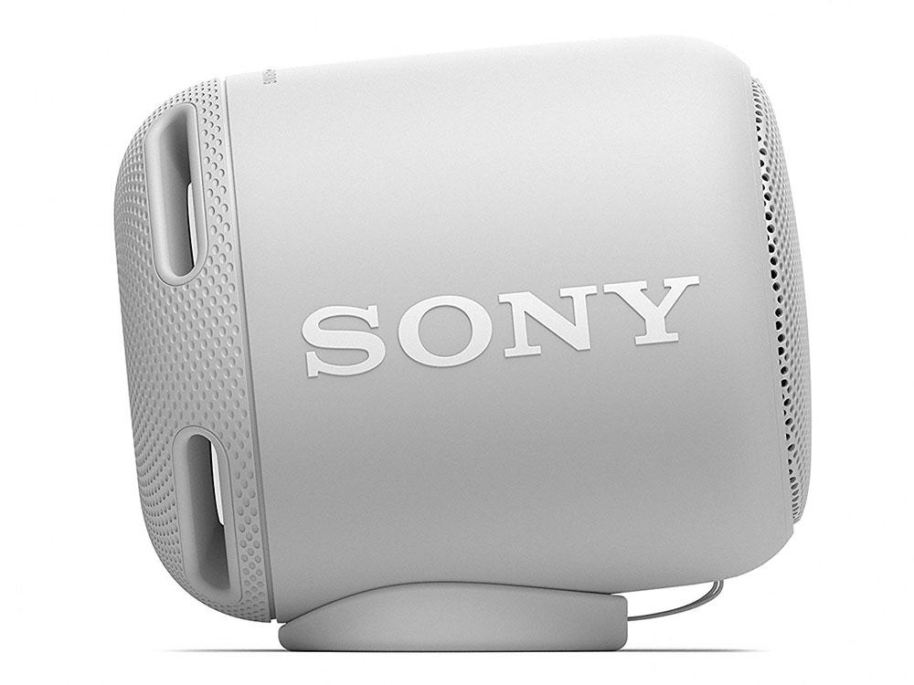 Беспроводная портативная акустика Sony SRS-XB10 (Белая) Bluetooth, Extra Bass, Работа до 16 часов портативная акустика sony srs x33 белая