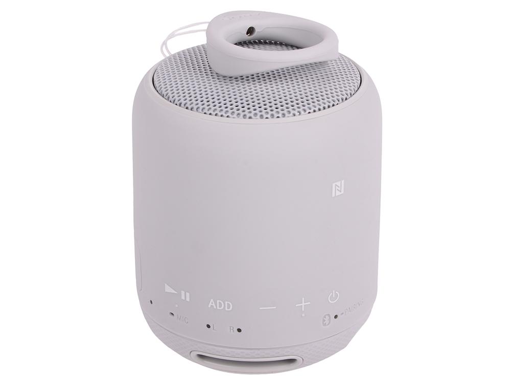 Беспроводная портативная акустика Sony SRS-XB10 (Белая) Bluetooth, Extra Bass, Работа до 16 часов портативная акустика беспроводная goldstar jazz rd