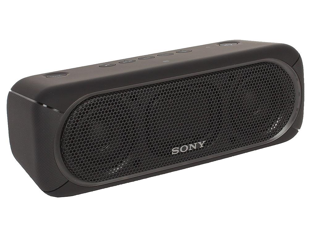 Беспроводная портативная акустика Sony SRS-XB30 (Черная) Bluetooth, Extra Bass, Работа до 24 часов беспроводная портативная акустика sony srs xb30 красная bluetooth extra bass работа до 24 часов