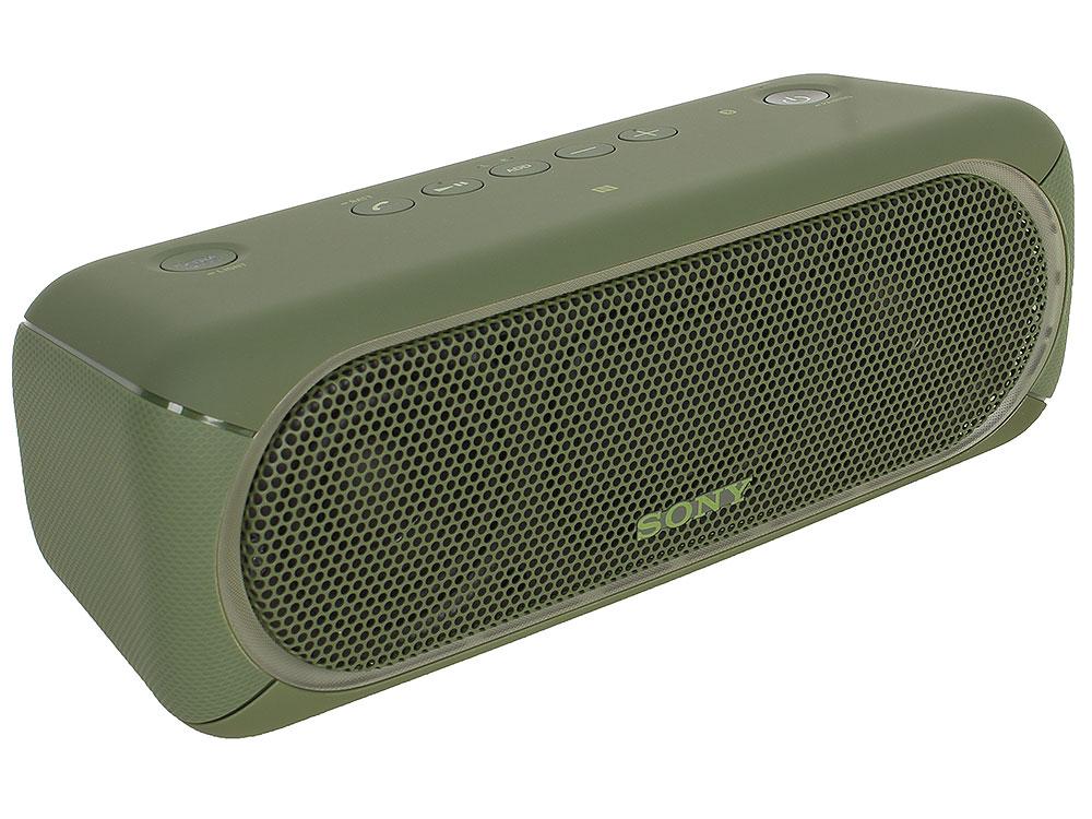 Беспроводная портативная акустика Sony SRS-XB30 (Зеленая) Bluetooth, Extra Bass, Работа до 24 часов беспроводная портативная акустика sony srs xb30 красная bluetooth extra bass работа до 24 часов
