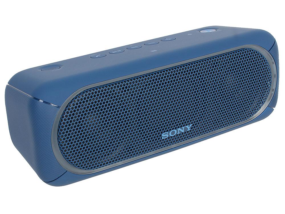 Беспроводная портативная акустика Sony SRS-XB30 (Голубая) Bluetooth, Extra Bass, Работа до 24 часов беспроводная акустика sony srs x11 wc