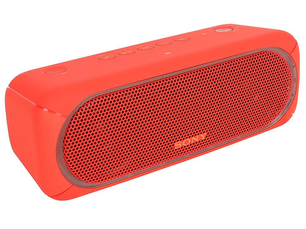 Беспроводная портативная акустика Sony SRS-XB30 (Красная) Bluetooth, Extra Bass, Работа до 24 часов беспроводная портативная акустика sony srs xb30 красная bluetooth extra bass работа до 24 часов