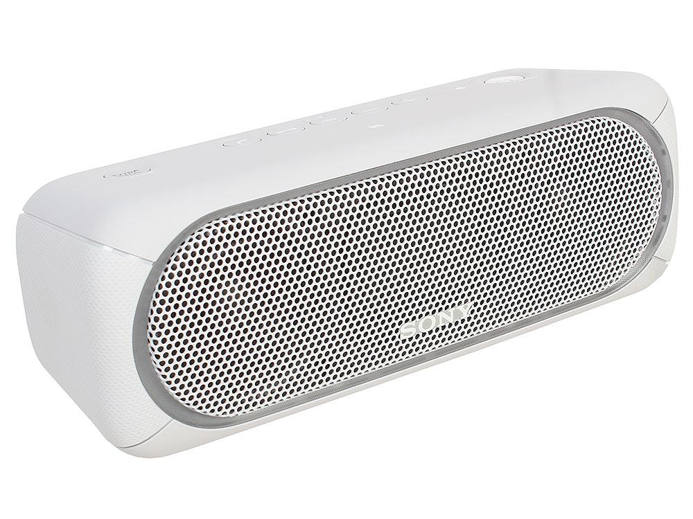 Беспроводная портативная акустика Sony SRS-XB30 (Белая) Bluetooth, Extra Bass, Работа до 24 часов беспроводная акустика sony srs x11 wc