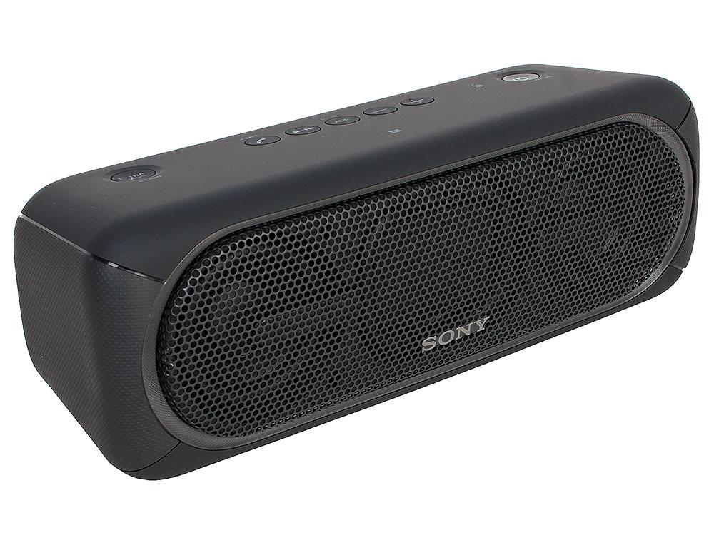 Беспроводная портативная акустика Sony SRS-XB40 (Черная) Bluetooth, Extra Bass, Работа до 24 часов беспроводная портативная акустика sony srs xb30 красная bluetooth extra bass работа до 24 часов