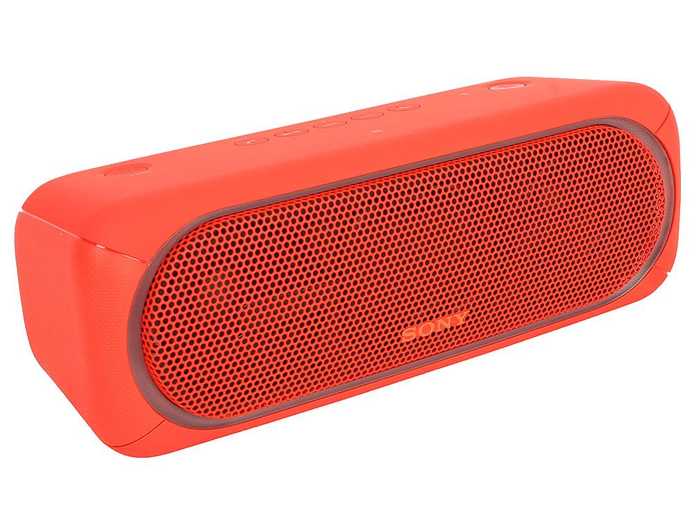 Беспроводная портативная акустика Sony SRS-XB40 (Красная) Bluetooth, Extra Bass, Работа до 24 часов беспроводная портативная акустика sony srs xb30 красная bluetooth extra bass работа до 24 часов