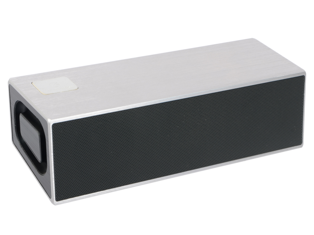 Портативная колонка GZ Electronics LoftSound GZ-11 Silver Беспроводная акустика / 2 x 10 Вт / 60 - 18000 Гц / Bluetooth 4.2 / 3D Stereo 2 pcs silver tone steel cross roller guide v2 60 60mm x 2mm