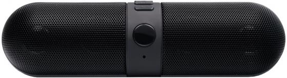 Портативная колонка Ginzzu GM-981В Black 2x3 Вт, 20-20000 Гц, FM, микрофон, Bluetooth, microSD, mini Jack, батарея, USB колонки dialog disco ad 07 2 0 brown 24 вт 20 20000 гц fm пульт ду mini jack usb micro sd mdf 220v