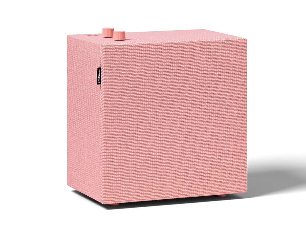 Колонка Urbanears Stammen, Pink (04091954) (36 Вт, 50 - 20 000 Гц, Bluetooth, mini Jack, 220V)