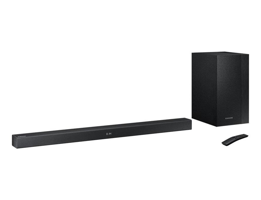 Колонки Samsung HW-M360/RU Black 2.1, 200 Вт, 45-20000 Гц, Bluetooth, AUX, USB, Dolby Digital, DTS акустическая система samsung hw m360 черный