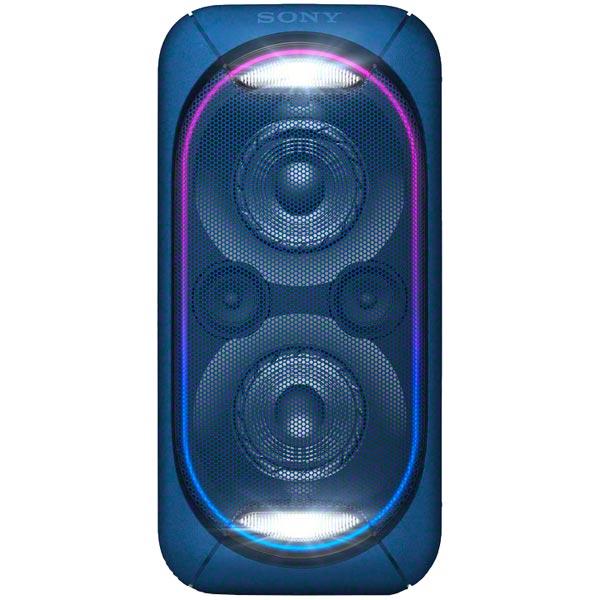 Беспроводная акустическая система Sony GTK-XB60 синий микросистема sony gtk xb60 black