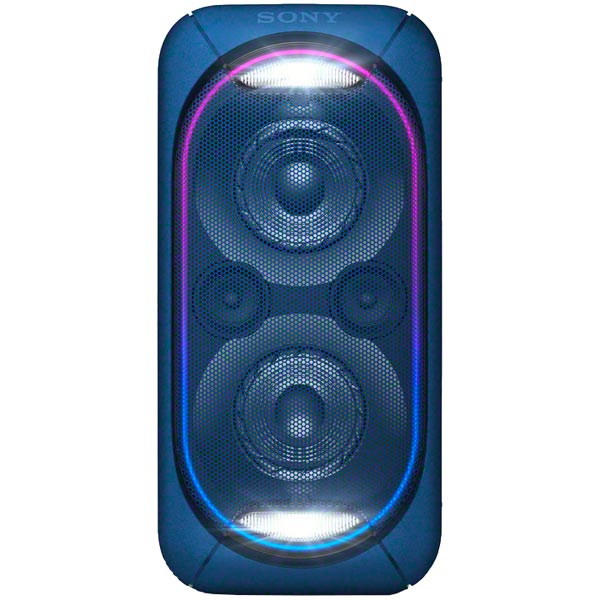Беспроводная акустическая система Sony GTK-XB60 синий портативная акустика sony gtk xb60 синий gtkxb60l ru1