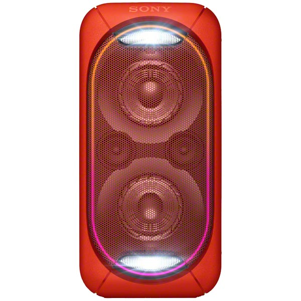Беспроводная акустическая система Sony GTK-XB60 красный портативная акустика sony gtk xb60 синий gtkxb60l ru1