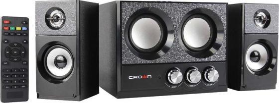 цена на Колонки Crown CMBS-161 2x4Вт + 8Вт черный