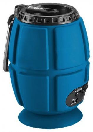 Портативная колонка Telefunken TF-PS1232B Blue  Вт, Bluetooth, microSD