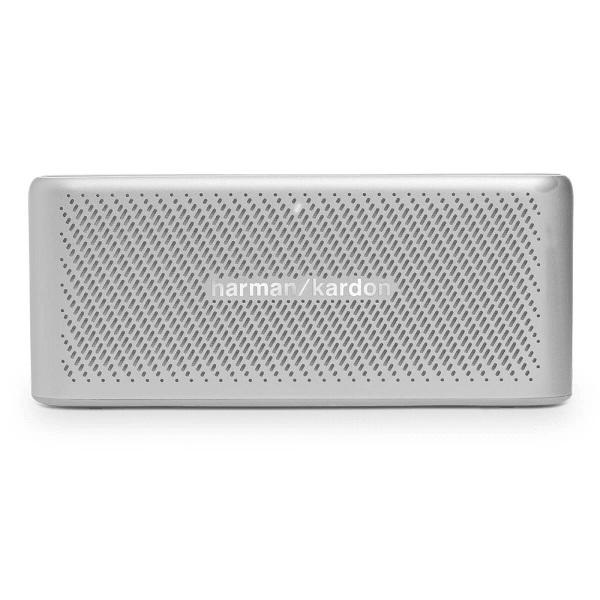 Портативная колонка Harman Kardon Traveler Silver 10 Вт, 180 - 20000 Гц, HandsFree, AUX, PowerBank, Bluetooth цены онлайн