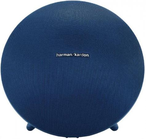 Колонка Harman Kardon Onyx Studio 4 Blue 60 Вт, 50 - 20000 Гц, BlueTooth, HandsFree