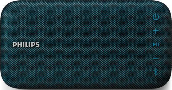 Портативная колонкаPhilips BT3900A Blue 4 Вт, 95 - 20000 Гц, Bluetooth, HandsFree hk009 wireless bluetooth 4 0 handsfree car speaker black
