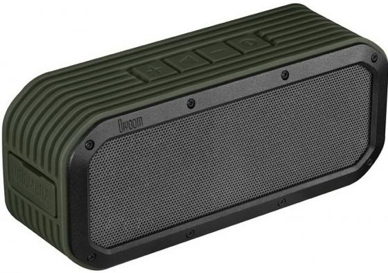 Портативная колонка Divoom VoomBox-outdoor Bluetooth Green 15 Вт, 100 – 20000 Гц, Bluetooth, HandsFree, NFC колонка recci bluetooth travel rbs d1 green