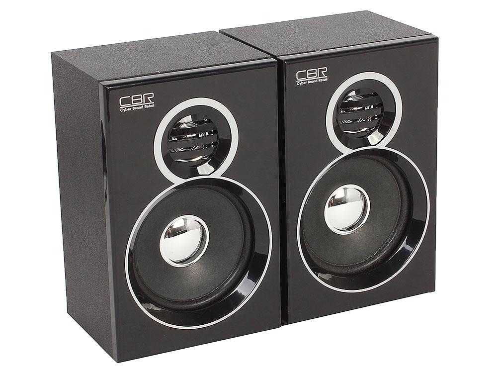 Колонки CBR CMS 660 black 2x3 Вт, 90-20000 Гц, Bluetooth, mini Jack, USB