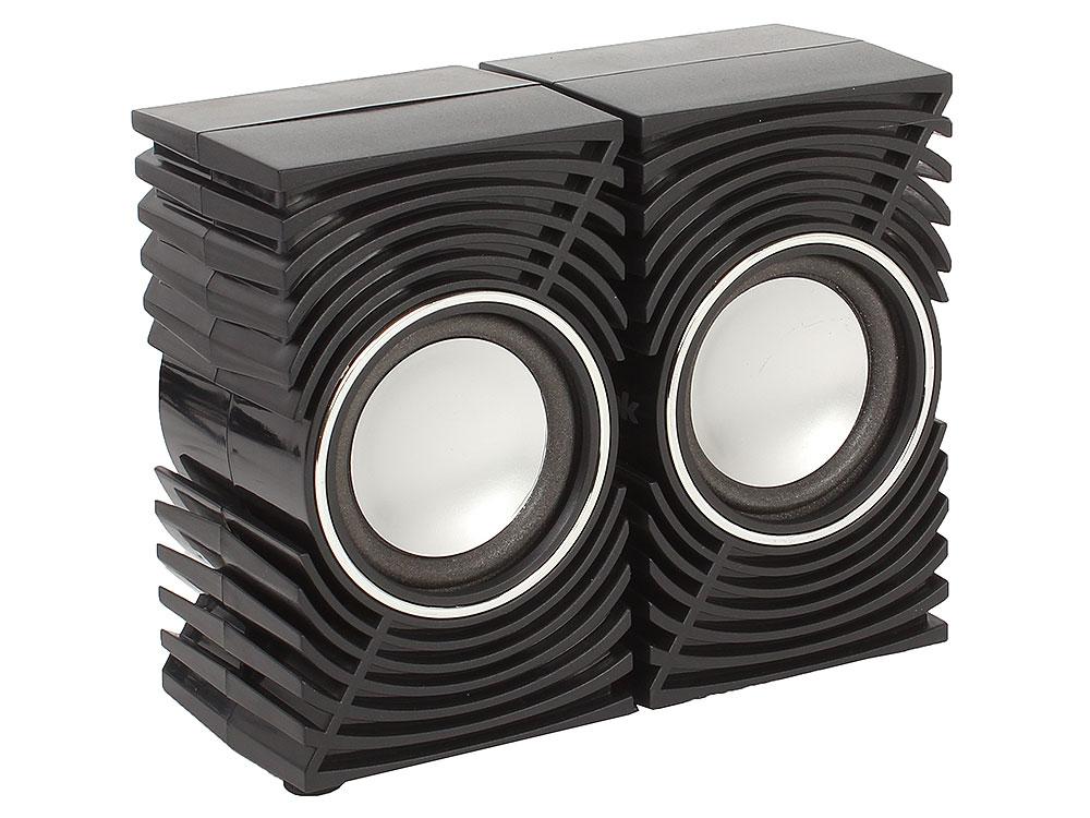 Колонки BBK CA-197S 2x2.5 Вт черный колонки bbk ca 301s 2x1 5 вт черный зеленый