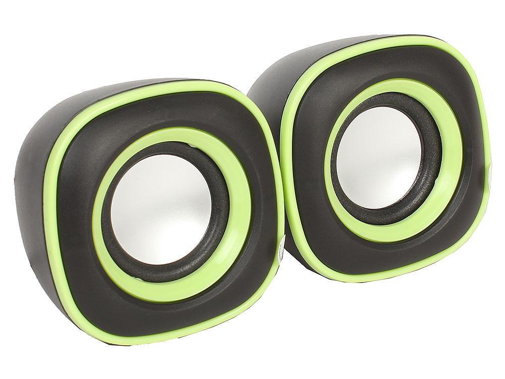 Колонки BBK CA-301S 2x3 Вт черный/зеленый колонки bbk колонки sp 09 чёрный
