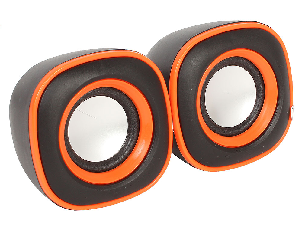 Колонки BBK CA-301S 2.0, Black/Orange (6 Вт, 100 - 20 000 Гц, от USB) колонки bbk ca 301s 2x1 5 вт черный зеленый