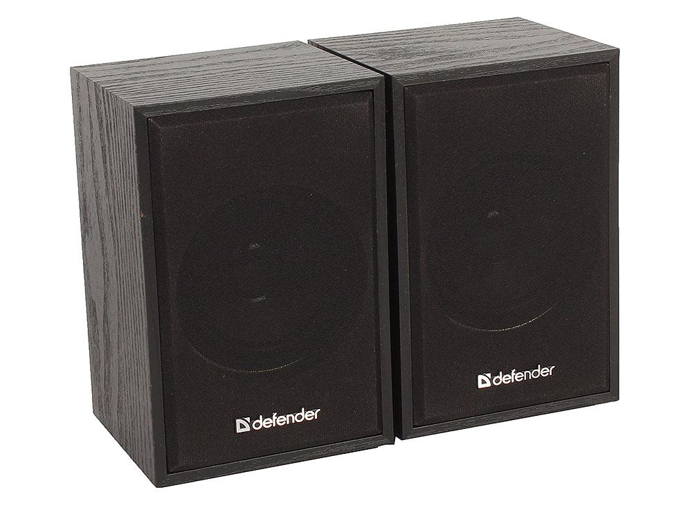 Колонки DEFENDER SPK-250 2.0 black (2x4 Вт, USB пит, раз. д. науш.) 2x4 double band switch gear 12 feet