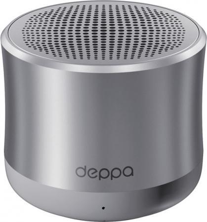 Портативная акустикаDeppa Speaker Alum Solo графит 42004 акустика