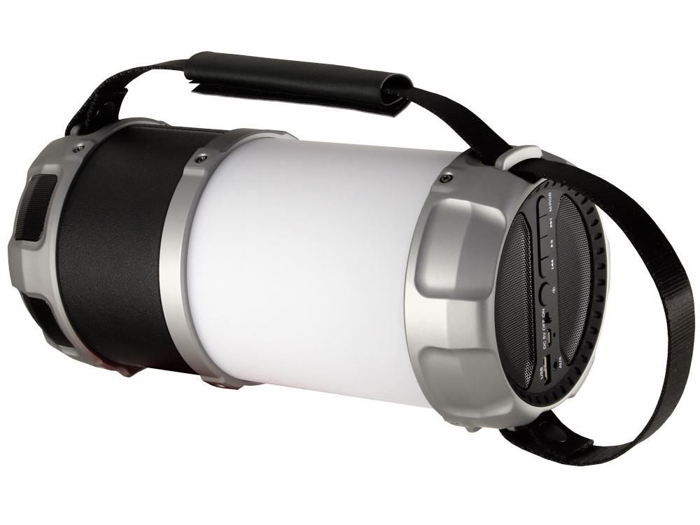 Беспроводная BT-Колонка GINZZU GM-889B, BT-Колонка 20W/3Ah/LED/RGB/USB/AUX/FM/subwoofer беспроводная bt колонка ginzzu gm 899b bluetooth 2x3w 4ah usb tf aux fm цветомузыка