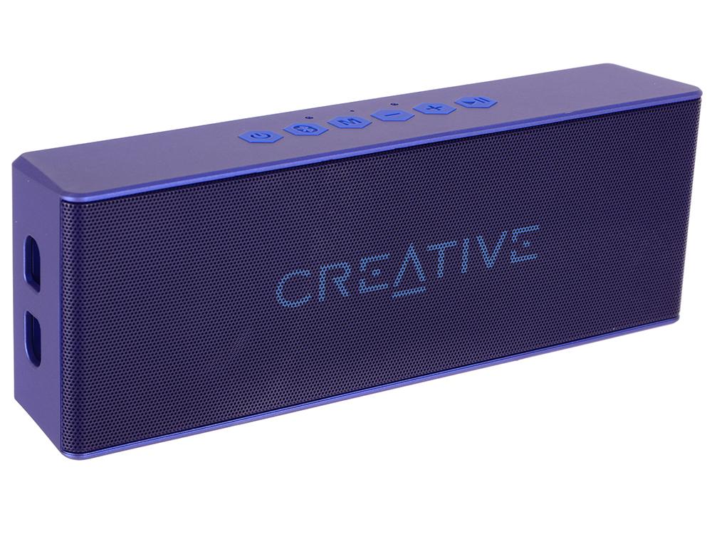 Портативная колонка Creative MUVO 2 синий портативная колонка harman kardon onyx studio 4 60вт синий [hkos4blueu]