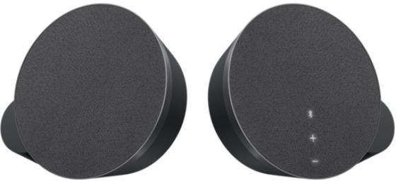 Колонки Logitech MX Sound Premium Bluetooth Speakers Black (980-001283) 2 ? 6 Вт, Bluetooth, mini-Jack, 220V колонки logitech multimedia speakers z333