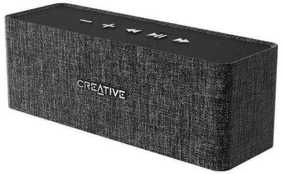 Портативная акустика Creative NUNO черный AUX, Bluetooth, HandsFree