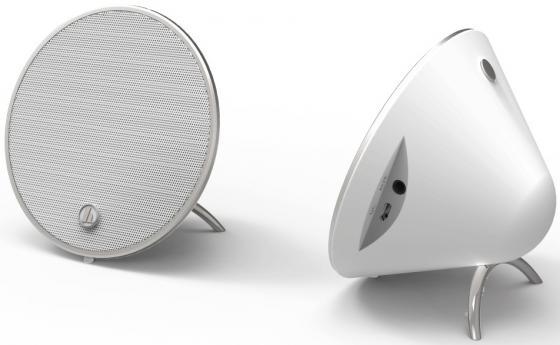 Портативная колонка Hama Cones White (00173165) 2х5 Вт, 100 – 20000 Гц, AUX, HandsFree, Bluetooth hama 102099 white