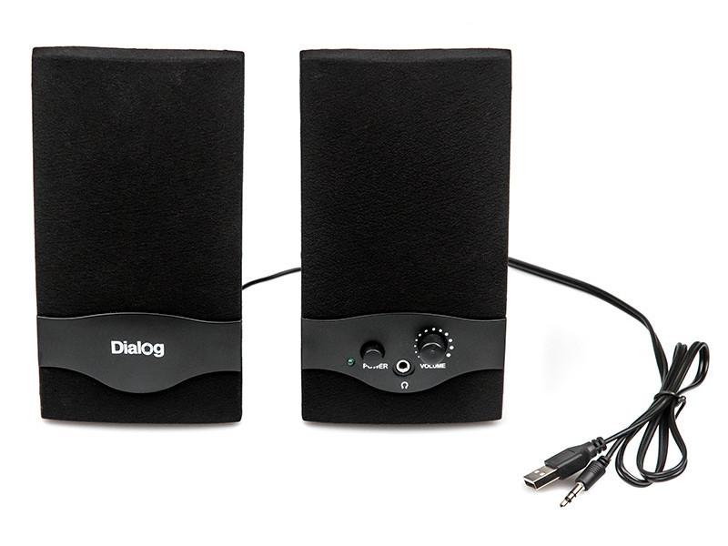 AC-22UP black компьютерная акустика dialog ac 04up черный оранжевый ac 04up black orange