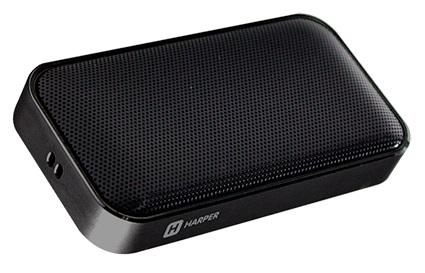 Беспроводная BT-Колонка HARPER PS-020 black 5 Вт, 20-18000 Гц, микрофон, Bluetooth, батарея, USB микрофон blue microphones yeti usb