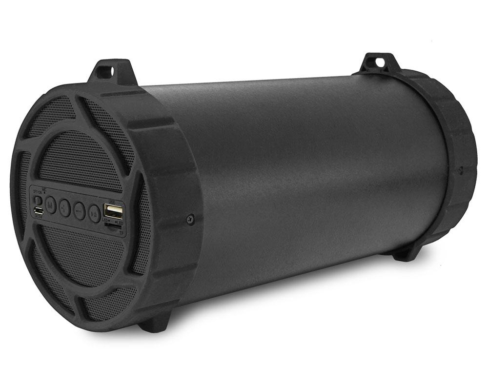 Портативная колонка CBR CMS 177BT, Black (10 Вт, 80 - 18 000 Гц, Bluetooth, FM, mini Jack, USB, Micro SD, батарея) колонка cbr cms 177bt black