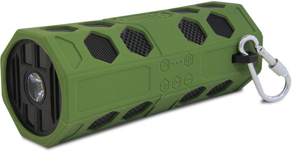 Портативная колонка CBR CMS 181Bt Green Беспроводная акустика / 2 x 5 Вт / 80 - 18000 Гц / Bluetooth 2.1 EDR беспроводная bluetooth колонка plufy