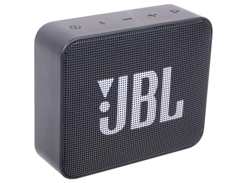 Портативная колонка JBL GO2 JBLGO2BLK Black 3 Вт / Bluetooth 4.1 / Влагозащита колонка jbl on stage micro iii black