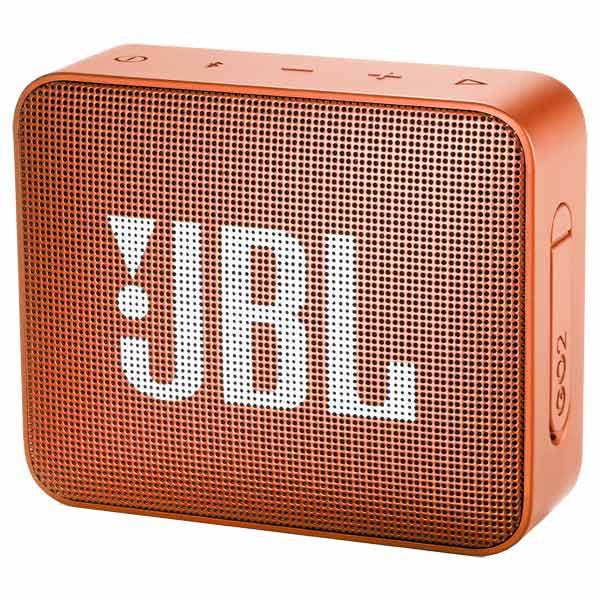 Портативная колонка JBL GO 2 JBLGO2ORG оранжевый Беспроводная акустика / 3 Вт / Bluetooth 4.1 / Влагозащита портативная bluetooth колонка jbl go 2 orange
