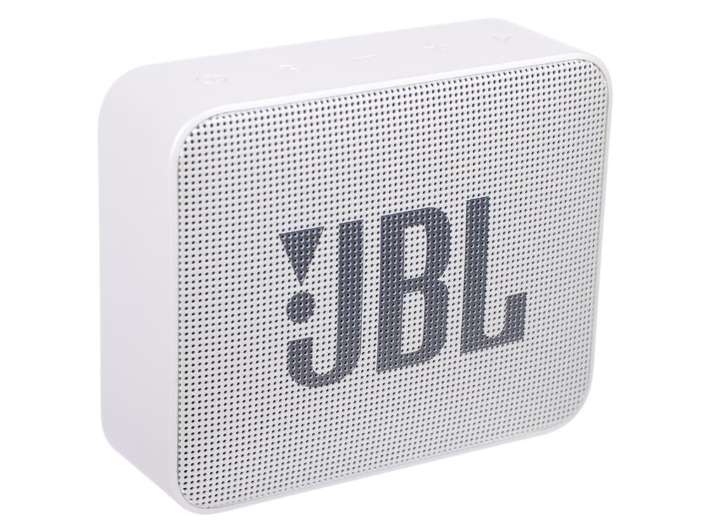 Портативная колонка JBL GO 2 JBLGO2GRY серый Беспроводная акустика / 3 Вт / Bluetooth 4.1 / Влагозащита портативная bluetooth колонка jbl go 2 orange